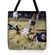 Mid-atlantic Lifeguard Competition - Tug Of War  Tote Bag
