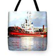 Tugboat Captain Tote Bag