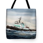 Tugboat Island Champion Tote Bag by James Williamson