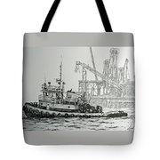 Tugboat Martha Foss Tote Bag