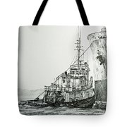 Tugboat Richard Foss Tote Bag