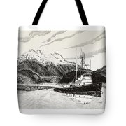 Skagit Chief Tugboat Tote Bag