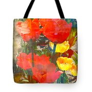 Tulip Abstracts Tote Bag