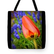Tulip And Muscari  Tote Bag