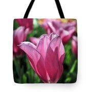 Tulip Angel Tote Bag
