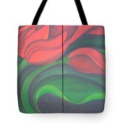 Tulip Diptych Tote Bag