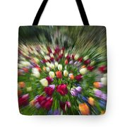 Tulip Explosion Tote Bag