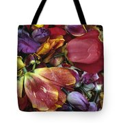 Tulip Heads Tote Bag