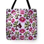 Tulip Kaleidoscope Under Glass Tote Bag