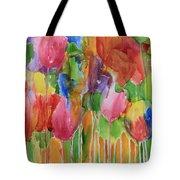 Tulip Palooza Tote Bag