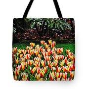 Tulip Stripe Garden Tote Bag