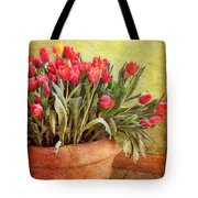 Tulip Tumble Tote Bag