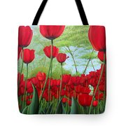 Tulipanes  Tote Bag