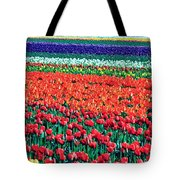 Tulipomania Tote Bag by Benjamin Yeager