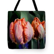 Irene Parrot Tulips Tote Bag