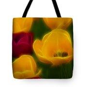 Tulips-6758-fractal Tote Bag