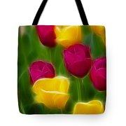 Tulips-6768-fractal Tote Bag