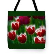 Tulips-6823-fractal Tote Bag