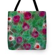 Tulips-6867-fractal Tote Bag