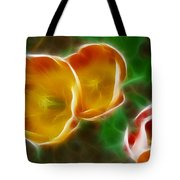 Tulips-6892-fractal Tote Bag