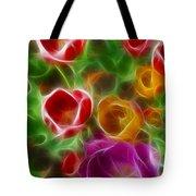 Tulips-6944-fractal Tote Bag