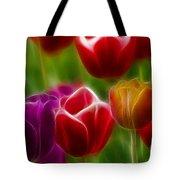 Tulips-7022-fractal Tote Bag