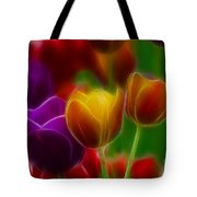 Tulips-7060-fractal Tote Bag