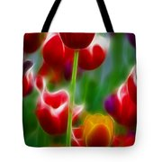 Tulips-7069-fractal Tote Bag