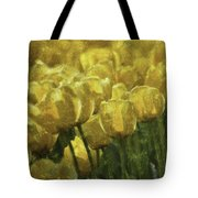 Tulips All Over Tote Bag