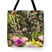 Tulips At Dallas Arboretum V47 Tote Bag