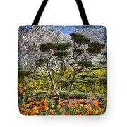 Tulips At Dallas Arboretum V49 Tote Bag
