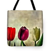 Tulips Color Tote Bag