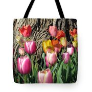 Tulips - Field With Love 07 Tote Bag