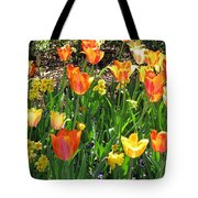 Tulips - Field With Love 41 Tote Bag