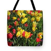 Tulips - Field With Love 49 Tote Bag