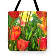 Tulips - Field With Love 69 Tote Bag