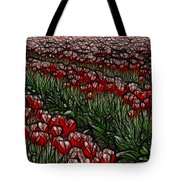 Tulips Fields Are Forever Tote Bag