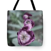 Tulips In A Garden Tote Bag