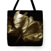 Tulips In Sepia Tote Bag