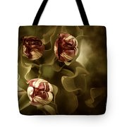 Tulips In The Mist II Tote Bag