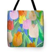 Tulips Multicolor Tote Bag