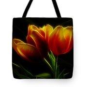 Tulips Of Light Tote Bag