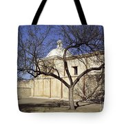 Tumacacori With Tree Tote Bag