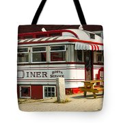 Tumble Inn Diner Claremont Nh Tote Bag by Edward Fielding