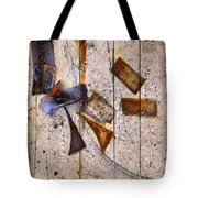 Tumbled Tote Bag