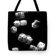 Tumbling Dice Tote Bag