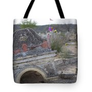 Tumbling Tombstone Tote Bag