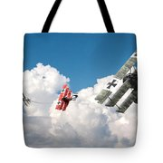 Tumult In The Clouds Tote Bag