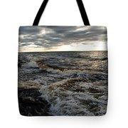 Tumultious Waters Tote Bag