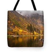 Tumwater Canyon Fall Serenity Tote Bag